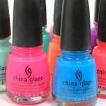 China Glaze bottles