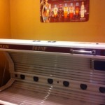Double Facial Tanning Bed